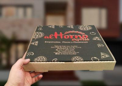 Cajas delivery impresas para empanadas carton microcorrugado