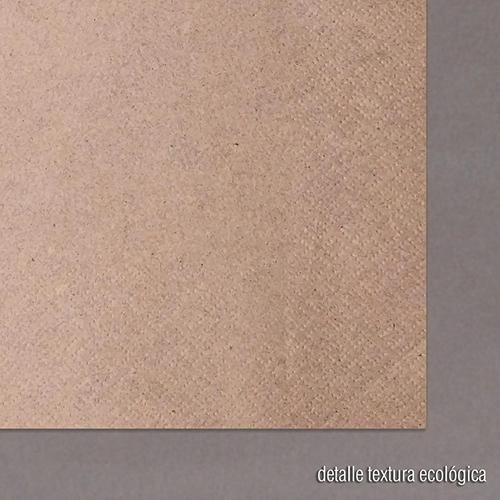 servilleta papel ecologica detalle textura