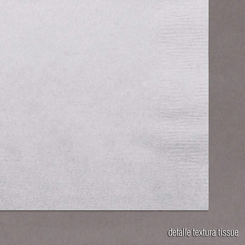 servilleta papel tissue detalle textura