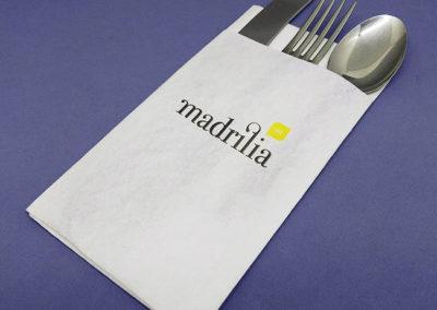 servilleta portacubiertos madrilia