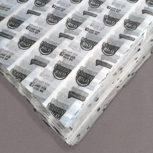 papel seda parafinado impreso en hojas