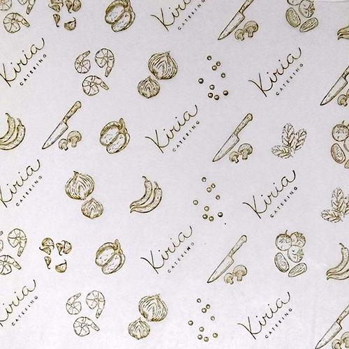 papel seda parafinado impreso