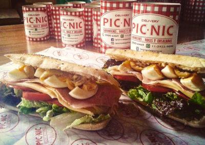 papel seda parafinado impreso con logo faja para sandwiches