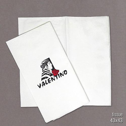 servilleta papel tissue impresa con logo