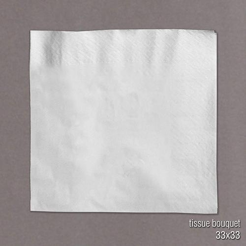 servilleta papel tissue bouquet simple y doble hoja